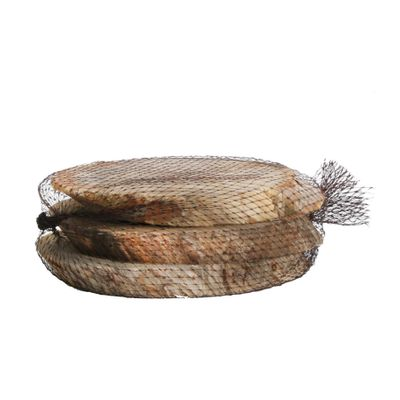 Wood Slices Large Oval (3pcs/net) (1/18)