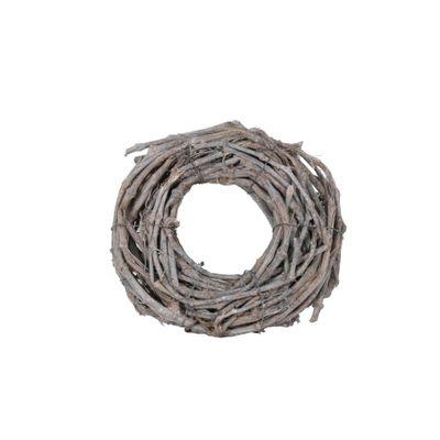 30cm Grapewood Whitewash Wreath (1/150)