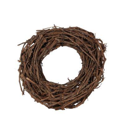 40cm Grapewood Natural Wreath (1/75)