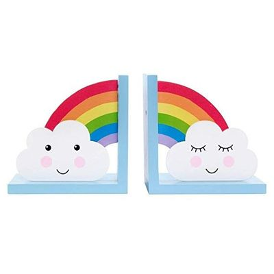 Rainbow and Cloud Bookends