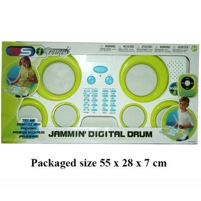 T19673 Try Me Jamming Digital Drum