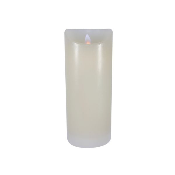 18 x 7.5cm Flickering LED Candle