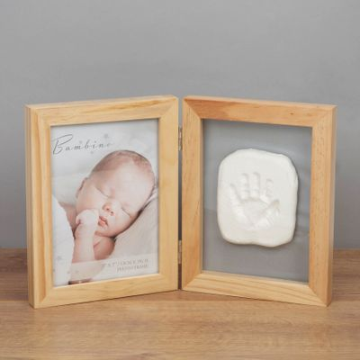 Natural Photo Frame with Clay