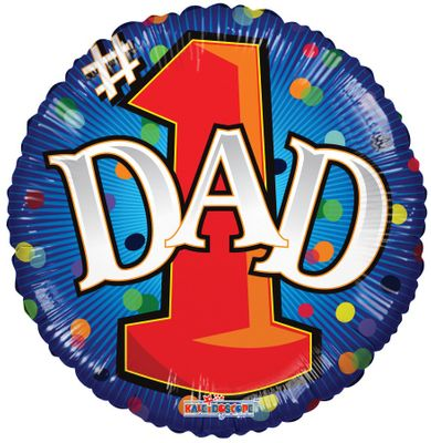 Number One Dad (18 inch)