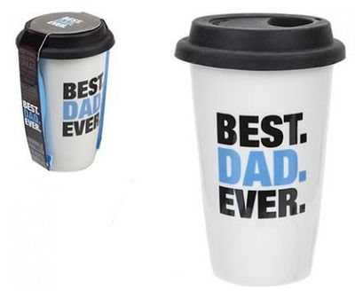Best Dad Ever Cup With Lid 320ml