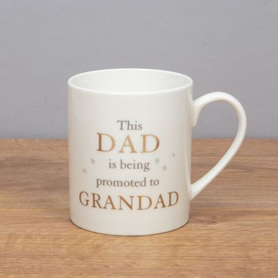 The Best Dads are promoted to Grandads Mug