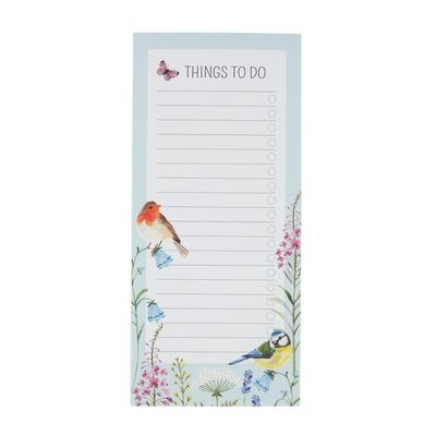 Garden Birds Notepad
