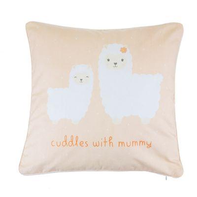 Little Llama Mummy Cuddles Cushion