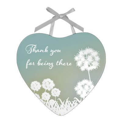 Reflections Of The Heart Mirror Thank You Plaque