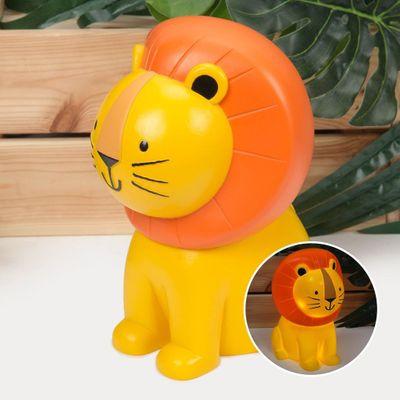 Jungle Baby Lion Resin Battery Powered Night Light