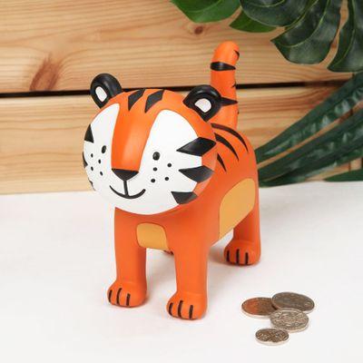 Jungle Baby Resin Tiger Money Box
