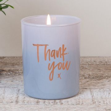 SHINING STAR THANK YOU SCENTED CANDLE
