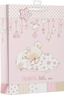 Ed Bags, Baby Bear Pink Xl.#NTR#.