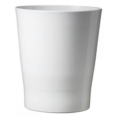 Merina Ceramic Pot Shiny White (16cm)
