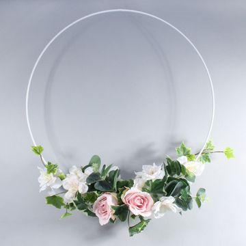 50cm Bridesmaid Flower Hoop