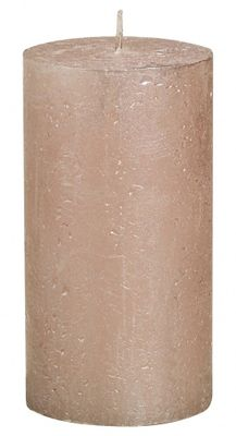 Rose Gold Bolsius Rustic Metallic Candle (130mmx68mm)  (BT 48 hours)