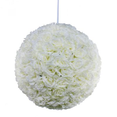 Cream Rose Ball (43cm)