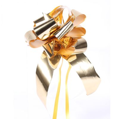 Metallic Gold Pull Bow 31mm