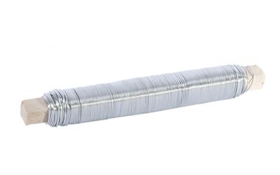 White Mossing Wire on Stick 100g