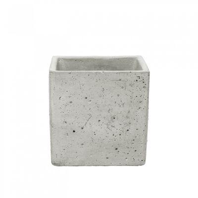 Square Cement Flower Pot (10cm)