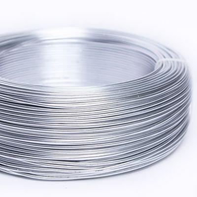 Silver Aluminium Wire Rings
