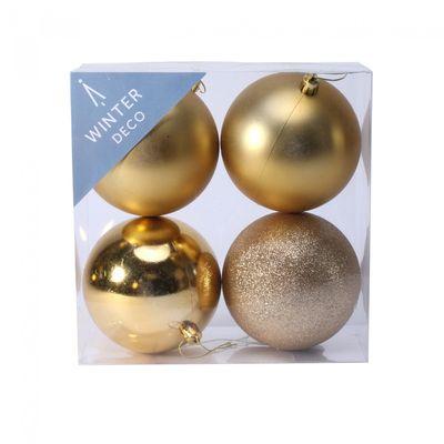 10cm Gold Bauble