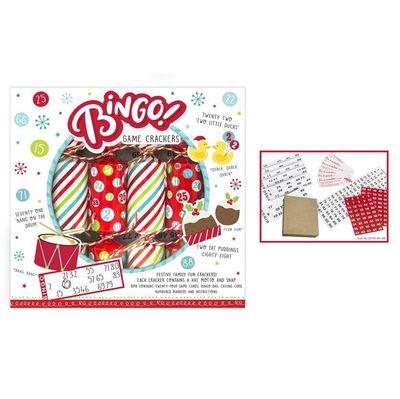 6 Bingo Game Crackers