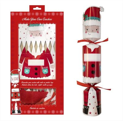 """6 """"Make Your Own"""" Santa Crackers"""