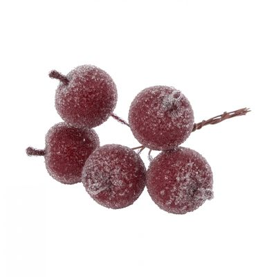 Burgundy Frosted Apple Pick