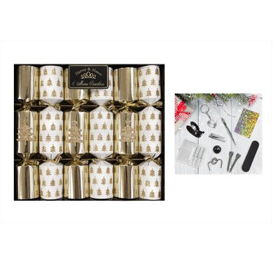 Christmas Silver Crackers