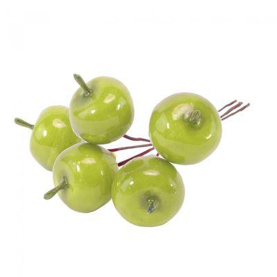 Green crab apple pick