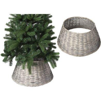 70Cm X 28Cm Willow Tree Skirt  Grey Colour