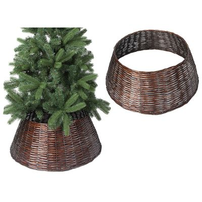 57Cm X 28Cm Willow Tree Skirt  Brown Colour