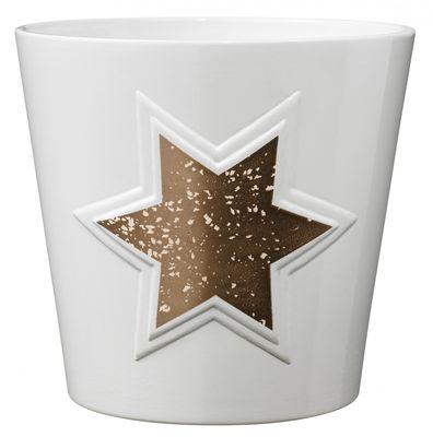 Magic Copper Star Ceramic Pot (14cm)