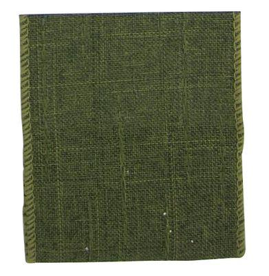 Green Natural Ribbon 63mm