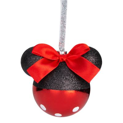 Assorted Minnie Mouse Christmas Bauble
