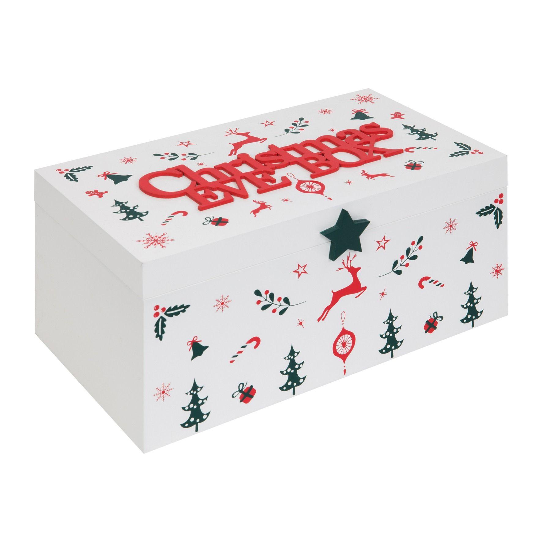 White Christmas Eve Box