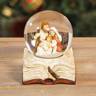 Hand Painted Resin Nativity Scene Waterball