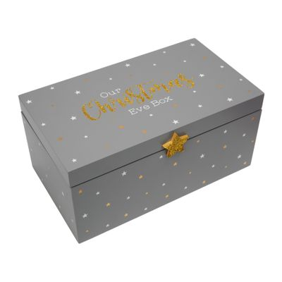 Grey & Gold Christmas Eve Box