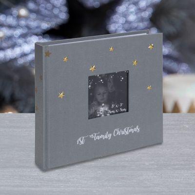 1st Family Christmas Personalisable Photo Album