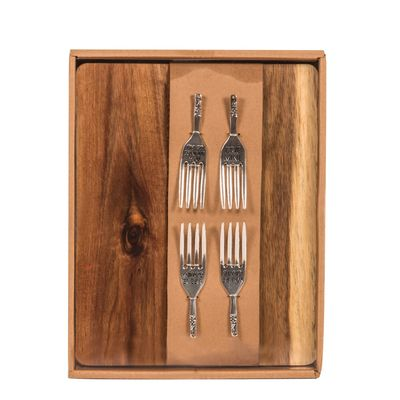 Cheese Picks & Cheeseboard Set