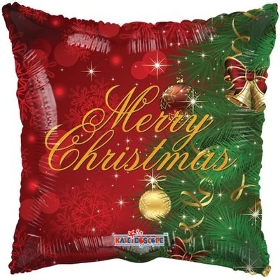Merry Christmas Traditional Balloon (18 inch)