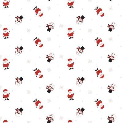 80cm Santa/Snowman Waving Film