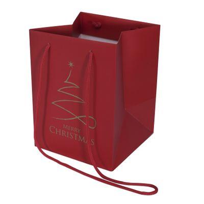 Contemporary Christmas Hand Tie Bag (19x25cm)