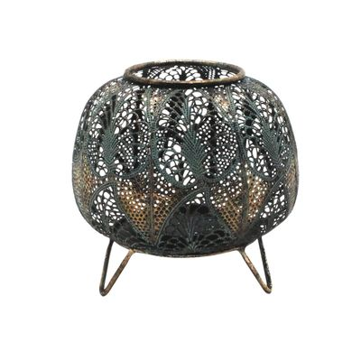 Tropical Mesh Candle Holder (20cm)