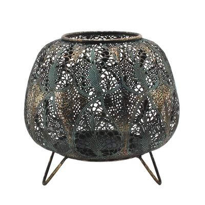 Tropical Mesh Candle Holder (25cm)