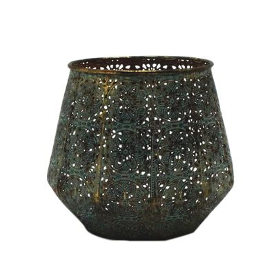 Morocco Jar Candleholder (16cm)