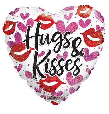 Hugs and Kisses Balloon (18 inch)