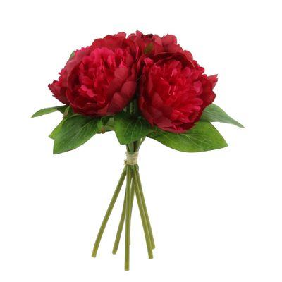 Arundel Peony Bouquet Red (12/144)