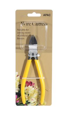 "Yellow Handle 6"" Wire Cutters"